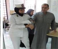 الداخلية توجه قافلة طبية للكشف بالمجان على أهالي قرية حلابة في القليوبية