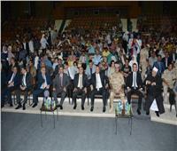 «جامعة أسيوط» تختتم مؤتمرها «مصر تستطيع بطلابها » ببرقية للرئيس