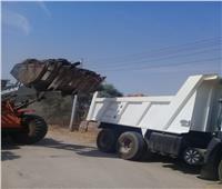 رفع 7 طن مخلفات من الطرق بمدينة الزينية في الأقصر