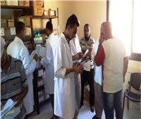إجراء الكشف الطبي المجاني لـ 3102 مواطن بأسوان