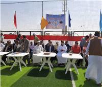 الغرابلي يفتتح مركز وملعب قانوني بتكلفة ٤.٤ مليون جنيه