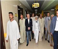 وزيرة الصحة: الانتهاء من تجهيزات مستشفى إسنا بتكلفة 475 مليون جنيه