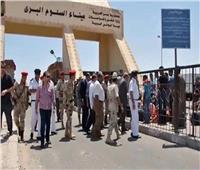 عودة 362 مصريًا من ليبيا وعبور 366 شاحنة عبر منفذ السلوم البري