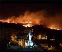 تراجع حده الحرائق في لبنان بعد تساقط الأمطار بشكل متفرق