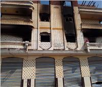بالصور| قوات الأمن بالدقهلية تفرض سيطرتها على «تلبانة»