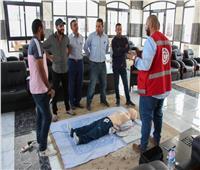 نادي الزمالك يتسلم جهاز إنعاش قلبي من الهلال الأحمر المصري