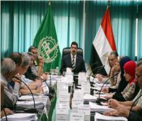 محافظ القليوبية يترأس اجتماع مجلس إدارة المناطق الصناعية
