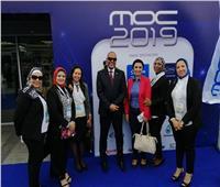 رئيس نقابة البترول يتفقد معرض دول حوض البحر المتوسط «موك 2019»