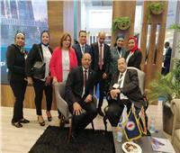 انطلاق فعاليات اليوم الثاني للمعرض الدولي العاشر لدول حوض البحر المتوسط