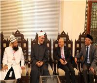 أمين «البحوث الإسلامية» يلتقي وفدًا إندونيسيًا لبحث سبل التعاون المشترك