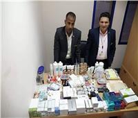إحباط محاولة تهريب أدوية ومستحضرات تجميل بمطار «مرسى علم»