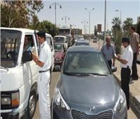 المرور تواصل حملاتها المكثفة على الطرق السريعة لمنع ظهور كثافات مرورية