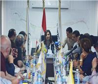 تفاصيل لقاء وزيرة الهجرة مع وفد المستثمرين المصريين بالخارج