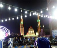 صور| مئذنة السيد البدوي تضئ سماء طنطا في ذكرى مولده