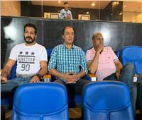 جهاز المنتخب يراقب مباراة بيراميدز وسموحة