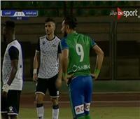 شاهد  صلاح أمين يقود المقاصة للفوز على المصري