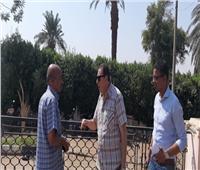 سكرتير عام الأقصر يتفقد أعمال تطوير ساحة سيدى أبو الحجاج