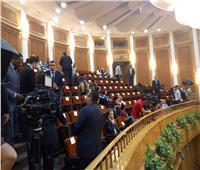توافد إعلامي مكثف لتغطية احتفالية«الدستورية» باليوبيل الذهبي