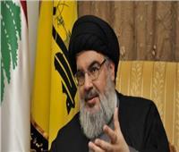 نصر الله: نحن لا نؤيد استقالة الحكومة اللبنانية