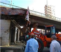 «غراب» يقود حملة مكبرة لإزالة الاشغالات بمدينة الزقازيق