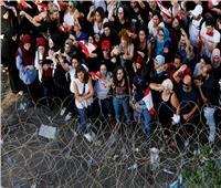 بالصور| قناع «البروفيسور» يظهر بمظاهرات لبنان
