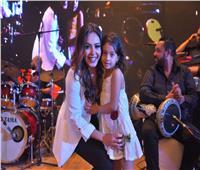 صور| ياسمين نيازي تُشعل حفل معهد الدراسات النوعية