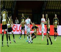 صور| الزمالك يقفز لصدارة الدوري بعد الفوز على المقاولون العرب