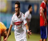 مصطفى فتحي يرتدي القميص رقم ١٤ في الزمالك