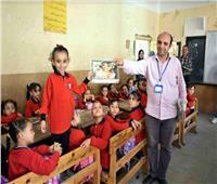 مياه سوهاج توعي طلاب المدارس بأهمية ترشيد الاستهلاك