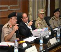 الرئيس السيسي: القوات المسلحة تنتقي رجالها بكل نزاهة وحيادية
