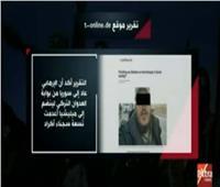 فيديو| تقرير ألماني: العدوان التركي ساهم في استعادة «داعش» لقدراته