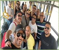 صور| وصول نجوم «مسرح مصر» للمشاركة في «موسم الرياض»