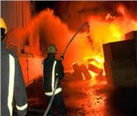 السيطرة على حريق فنطاس بنزين بالدائري الإقليمي