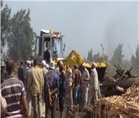 البيئة: إزالة 115 مكمورة فحم مخالفة بمحافظة الدقهلية