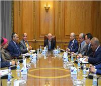 العصار يستقبل رئيس شركة جنوب سيناء للمياه لبحث سبل التعاون