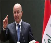 الرئيس العراقي ورئيسة وزراء النرويج يبحثان التطورات في المنطقة