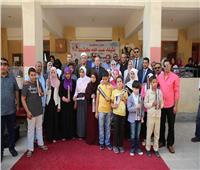محافظ كفر الشيخ يحتفل باليوم العالمي لـ«العصا البيضاء» مع المكفوفين