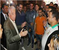 محافظ جنوب سيناء يلتقى بعدد من أمناء حزب مستقبل وطن