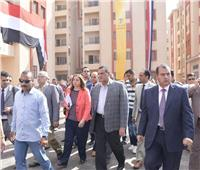 صور| نائب رئيس«المجتمعات العمرانية الجديدة» يتفقد مشروعات مدينة بدر