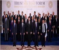 وزيرة الاستثمار تشارك في افتتاح منتدى طريق الحرير بجورجيا