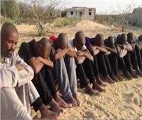 ضبط 20 متسللا إفريقيا لمصر عبر الدروب الصحراوية الجنوبية