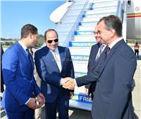 الرئيس السيسي يستهل نشاطه في سوتشي بلقاء رئيس شركة «GAZ»