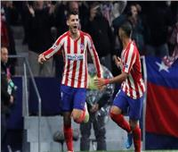 شاهد  «موراتا» يقود أتلتيكو مدريد لفوز صعب في دوري أبطال أوروبا