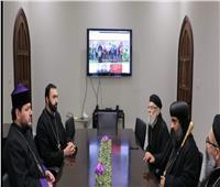 الأنبا بولس يزور أسقف الأرمن بكندا