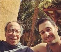 الفنان أحمد السعدني يهنئ والده بعيد ميلاده على «تويتر»