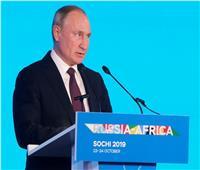 بوتين: السيسي لعب دورا كبيرا في الإعداد للقمة الروسية الأفريقية