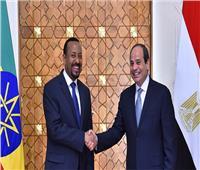 آبي أحمد عقب لقائه السيسي: العلاقات مع مصر إيجابية