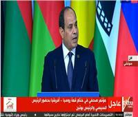 السيسي: نجاح قمة «إفريقيا - روسيا» يترجم الرغبة في تعزيز العلاقات بين الجانبين