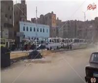 فيديو| سيولة مرورية بشوارع شبرا الخيمة بعد سقوط الأمطار