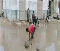 صور|«أمطار غزيرة».. واستمرار توقف حركة الصيد بكفر الشيخ